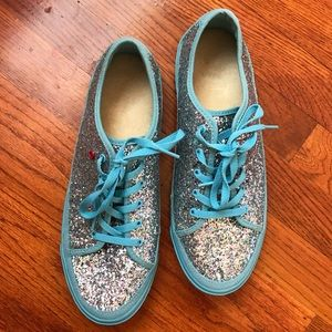 UGG Blue Glitter Sparkle Sneakers